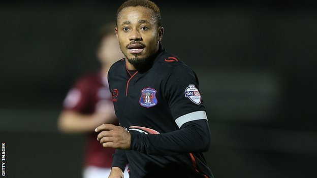 Experienced Ghanaian winger Derek Asamoah on target for Carlisle in England