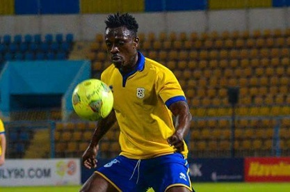 Ghanaian striker Emmanuel Banahene on target for Ismaily against Club Africain in friendly