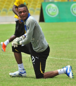Goalkeeper Ernest Sowah would welcome competition  from duo Antwi and Annan