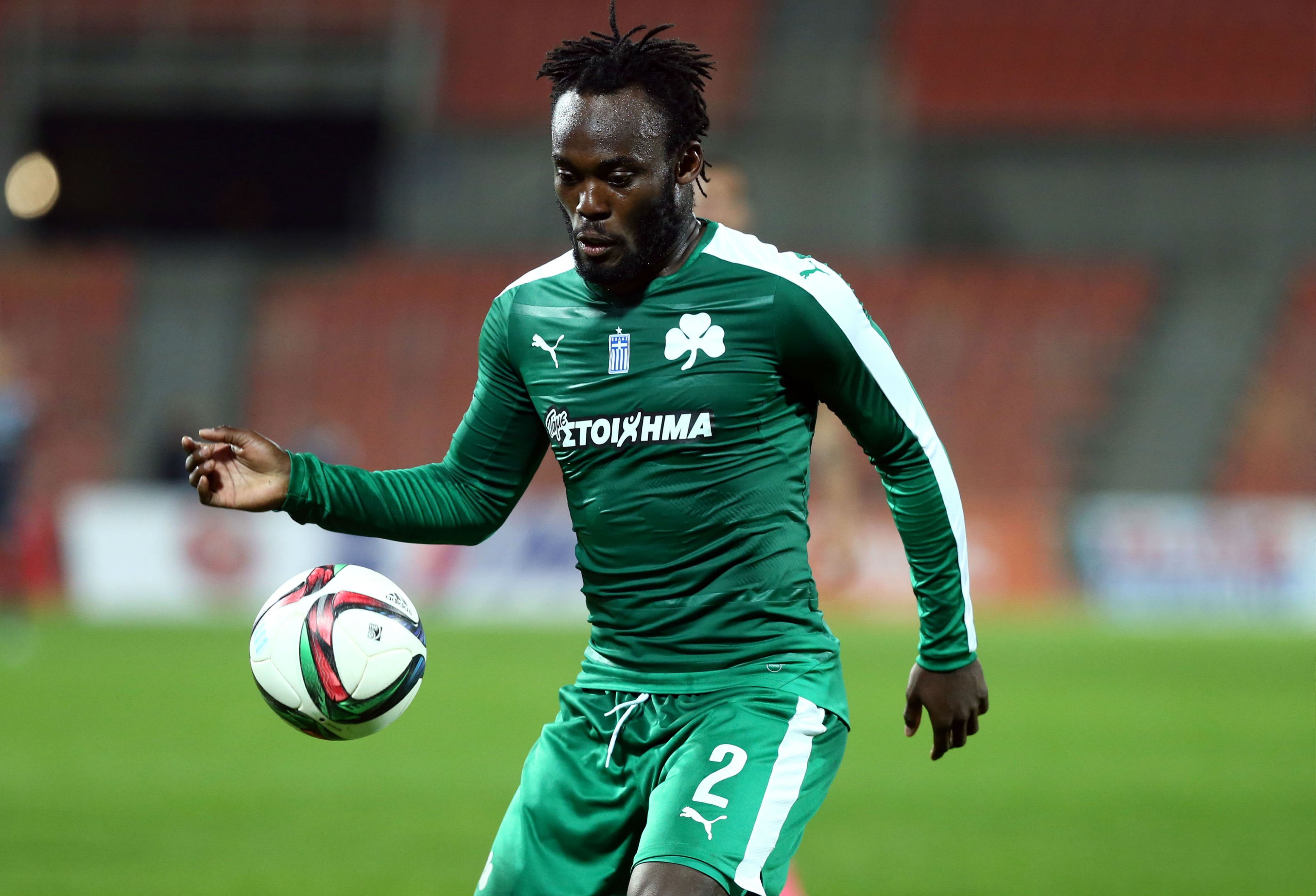 Panathinaikos coach says Michael Essien needs more time to be fully fit after making long-awaited debut