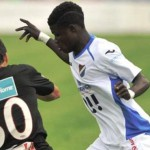 Ex-Ghana U20 striker Francis Narh sent off in Czech Republic
