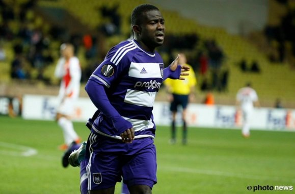VIDEO: Watch Frank Acheampong's spectacular finish for Anderlecht against Monaco