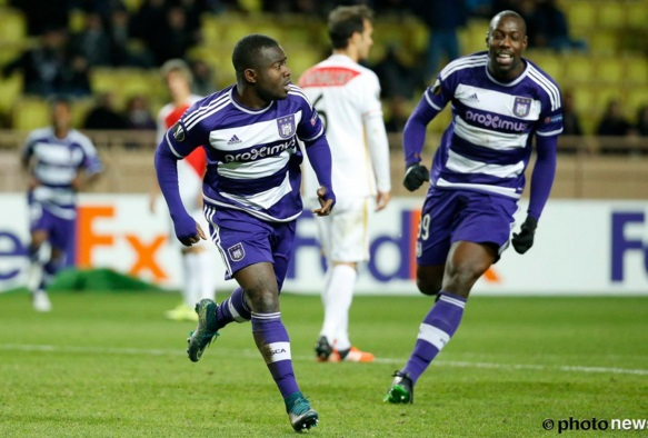 Ghana defender Jonathan Mensah hails Frank Acheampong brilliant finish in Europa League