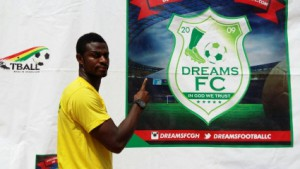 Dreams FC new recruit Godfred Asante 'very excited' to work under CK Akunnor