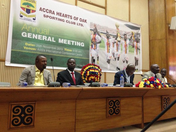 PHOTOS: Accra Hearts of Oak Annual General Meeting