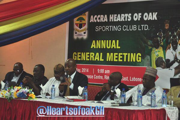 Hearts of Oak problems is not the lack of big-name signings but technical, says Togbe Afede XIV