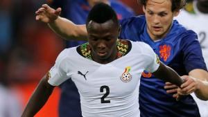 Ghana defender Samuel Inkoom unveils new Nike boots