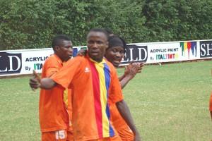 Aduana striker James Abban swats aside SACK rumours