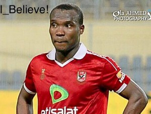 Ghanaian striker John Antwi to re-join Al Ahly on Thursday after brief holiday