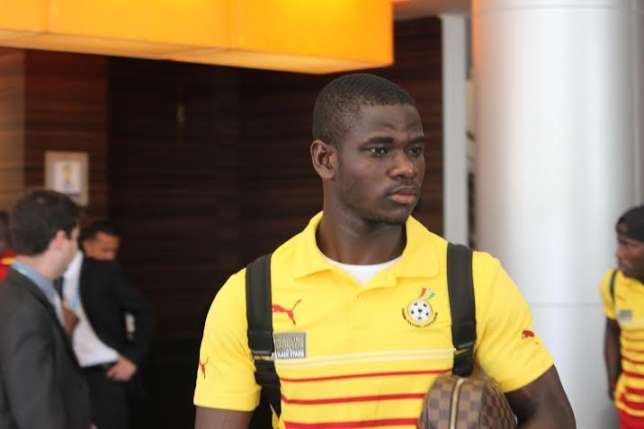 VIDEO: Defender Jonathan Mensah scores amazing long-range goal in Black Stars pre-AFCON training