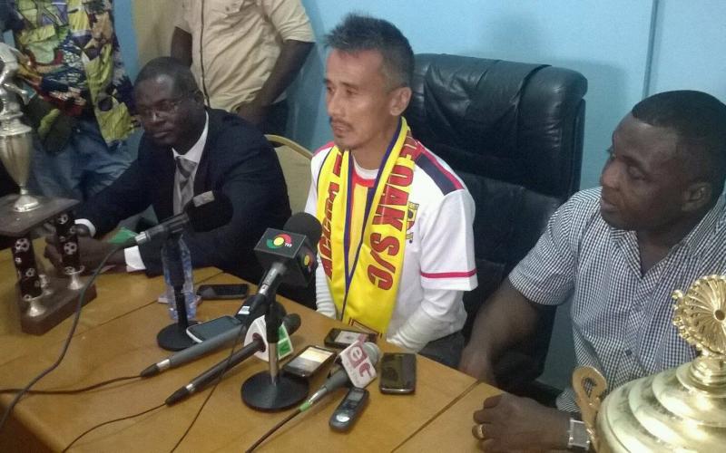Trifled Hearts coach Kenichi Yatsuhashi gets full backing of board chairman Togbe Afede XIV