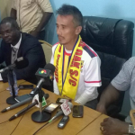 Coach Kenichi Yatsuhashi says he is not in charge of player recruitment at Hearts