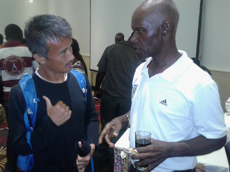 Experienced Herbert Addo warns Hearts coach Kenichi against impatient fans
