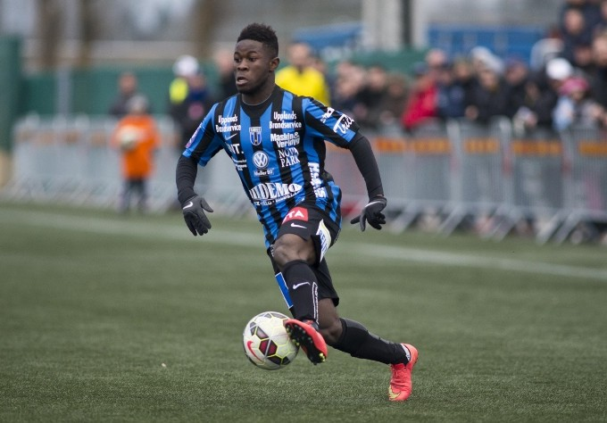 Ghanaian international Kingsley Sarfo scores first home goal of the season for Swedish side IK Sirius
