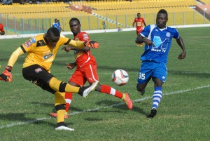 Great Olympics Striker Kwame Boateng completes move to Asante Kotoko