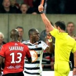 VIDEO: Watch Ghana striker Majeed Waris in 'CRAZIEST' moment of the season as he receives red card