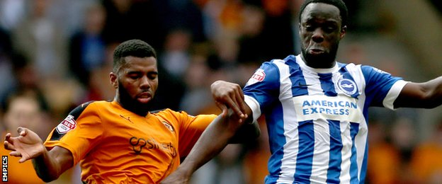 Ghana attacker Elvis Manu must fight for Brighton place after Seagulls acquire Manchester United striker Wilson