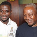 Jonathan Mensah wishes President John Mahama a happy 57th birthday
