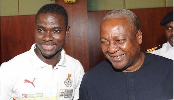 Jonathan Mensah wishes President John Mahama a happy 57th birthday