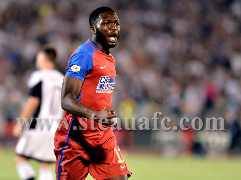UEFA Champions League: Muniru Sulley plays role in Steaua Bucuresti draw at Sparta Prague