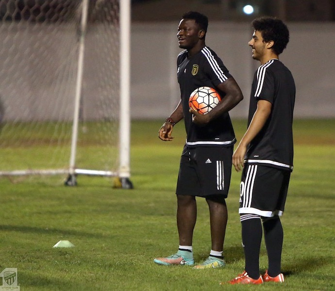 Sulley Muntari gets new coach at Al Ittihad as Laszlo Boloni is FIRED