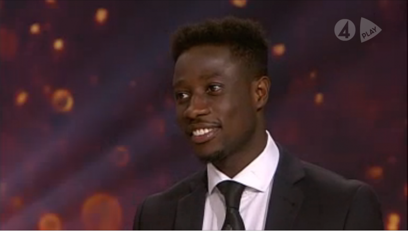 VIDEO: Ebenezer Ofori named 2015 Swedish League Best Midfielder
