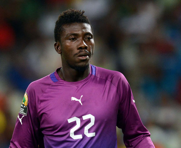 REVEALED: Aduana Stars' goalie Stephen Adams was heckled by police after Dwarfs win