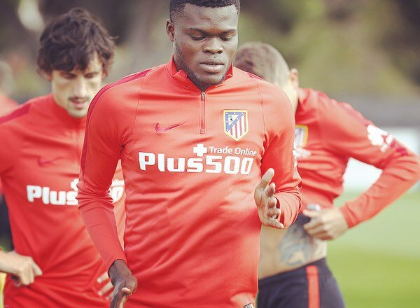 Ghanaian youth midfielder Thomas Partey heading for Atletico Madrid winter exit