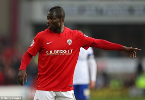 Russia-based Emmanuel Frimpong plays against Kuban Krasnodar