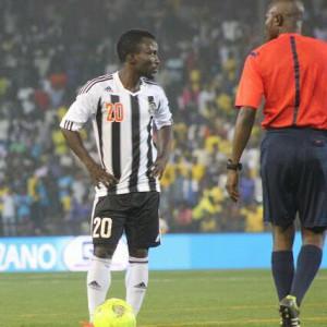 Injured Solomon Asante rejoins TP Mazembe