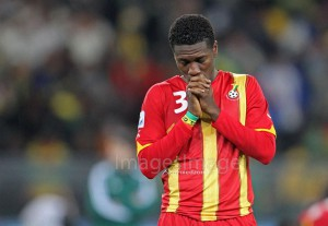 Asamoah Gyan at 30: Emotional Pictures of the Black Stars skipper down the years