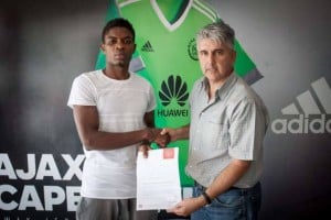 Lawrence Lartey delighted to join Ajax Cape Town