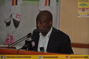 Hearts of Oak chief Togbe Afede XIV blasts supporters for creating negative impressions about the club's board
