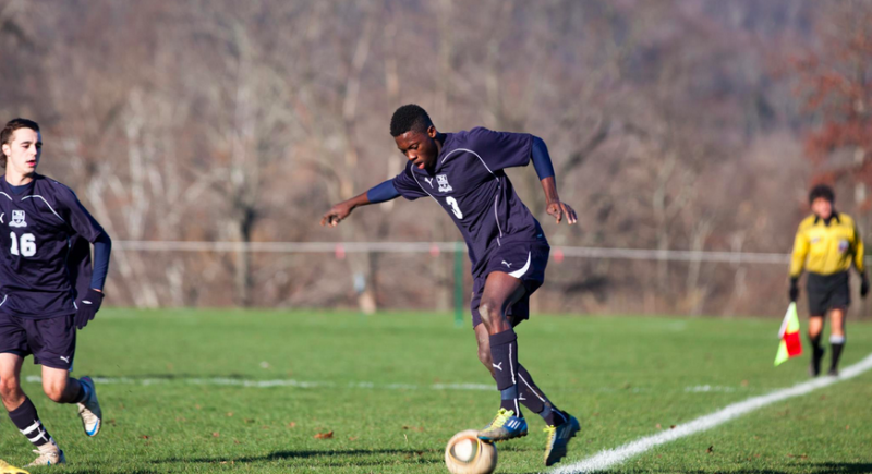 From Ghana to Greenwich, Emmanuel Twumasi shines on the soccer field and in the classroom