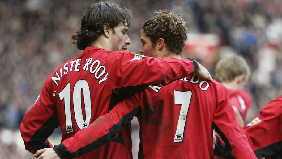 Ruud van Nistelrooy Sold After Kicking Cristiano Ronaldo in Training