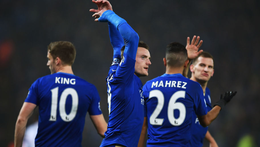 Leicester City 2-1 Chelsea: Brilliant Vardy and Mahrez Send Foxes Top and Pile Misery on Mourinho