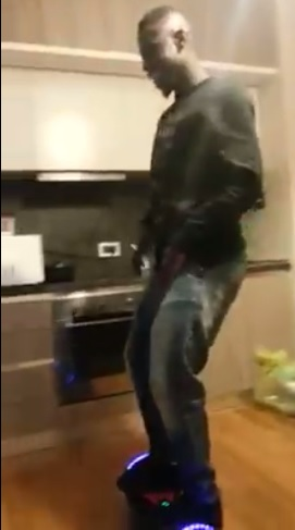 VIDEO: Afriyie Acquah puts on his dancing shoes again as he lets himself loose