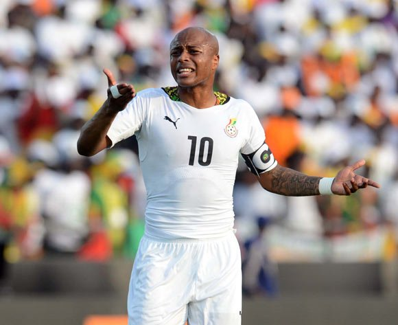 Andre Ayew to captain Black Stars against Guinea and Mauritius