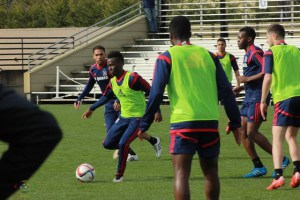 REVEALED: David Accam training with English Premier League club Stoke City, sparks rumours of €4m move