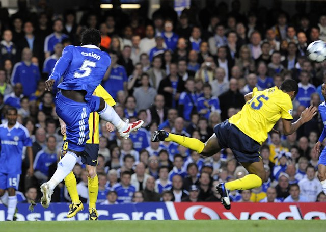 Micheal Essien picks strike against Barcelona as his best