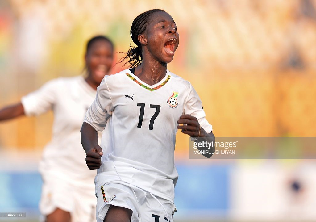 Ghana's All Africa Games heroine Portia Boakye up for CAF Women Player of the Year