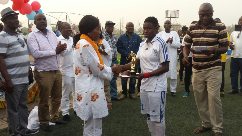 42ND SWAG AWARDS: Priscilla Adubea wins Female Footballer of the Year