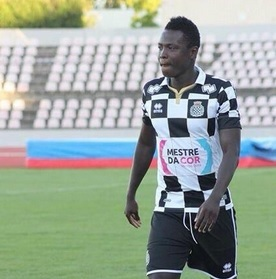 VIDEO: Watch Ghana defender Samuel Inkoom fire a piledriver during Boavista's game in Portugal