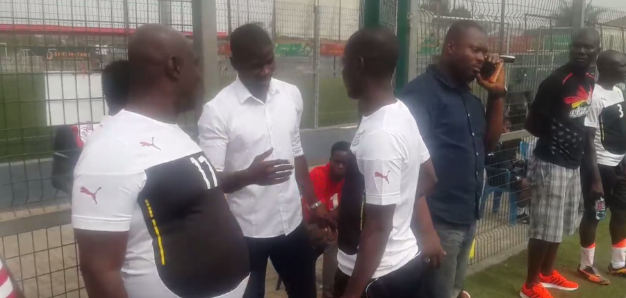 Video: Black Stars defender Jonathan Mensah makes a stop at Ghana FA gala