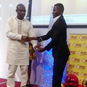 Asante Kotoko defender Ahmed Adams wins Ghana Premier League Player of the Year at the Ghana Sports Fans Awards