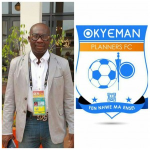 Okyeman Planners FC President George Afriyie eyes Premiership qualification in three years' time