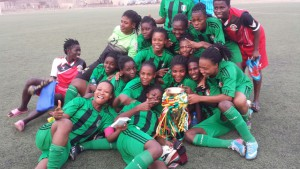 PHOTOS: National Women's Championship final between Hasaacas Ladies and Ampem Darkoah Ladies