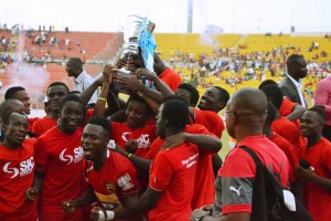 Ambitious Theophilus Nyame says Kotoko will win next season's league