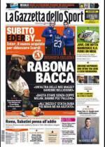 Gazzetta, Tuttosport And Corriere Dello Sport Headlines: 30th January 2016