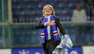 Sampdoria president issues fiery response to fans